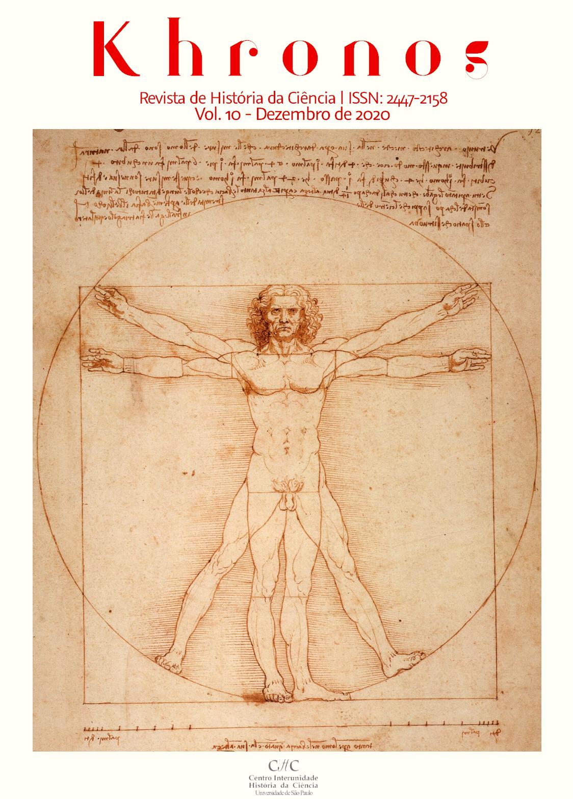 """Visualizar n. 10 (2020): Dossiê """"Artes, História das ciências e técnicas: interações"""""""