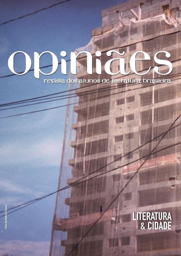 Visualizar n. 9 (2016): Dossiê: Literatura e Cidade