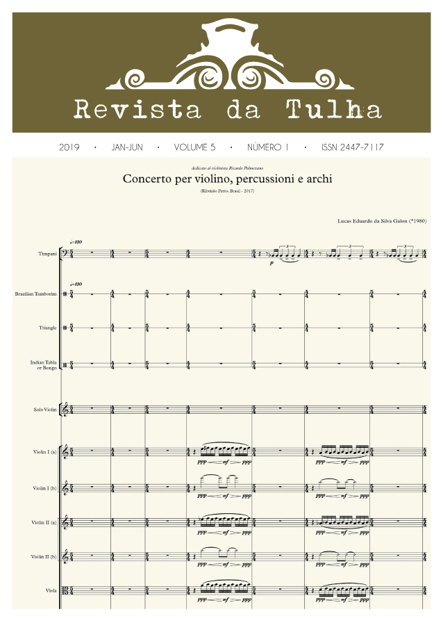 Revista da Tulha Volume 5 Número 1 JAN-JUN 2019