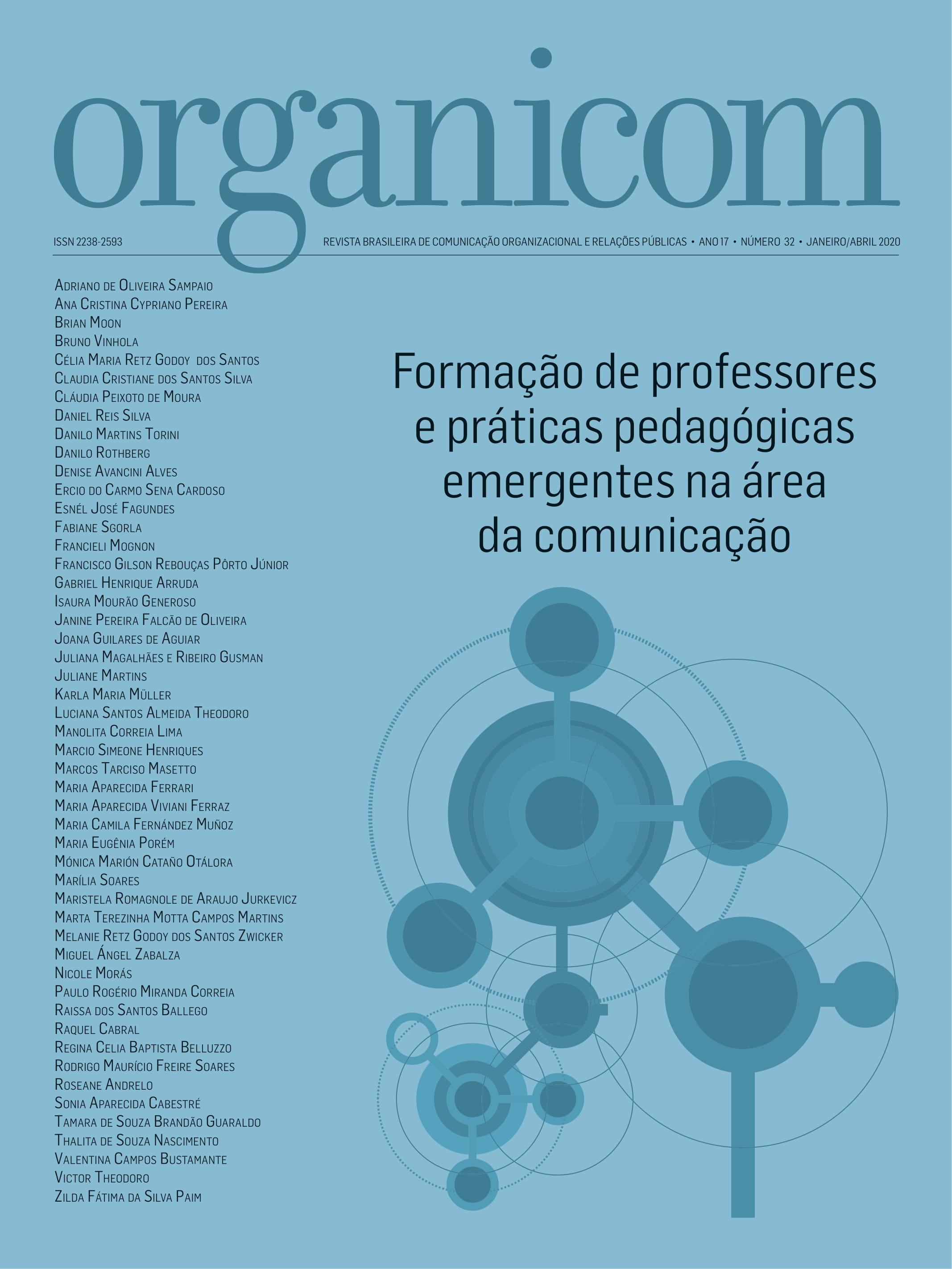 Visualizar v. 17 n. 32 (2020): Formação de professores e práticas pedagógicas emergentes na área da comunicação
