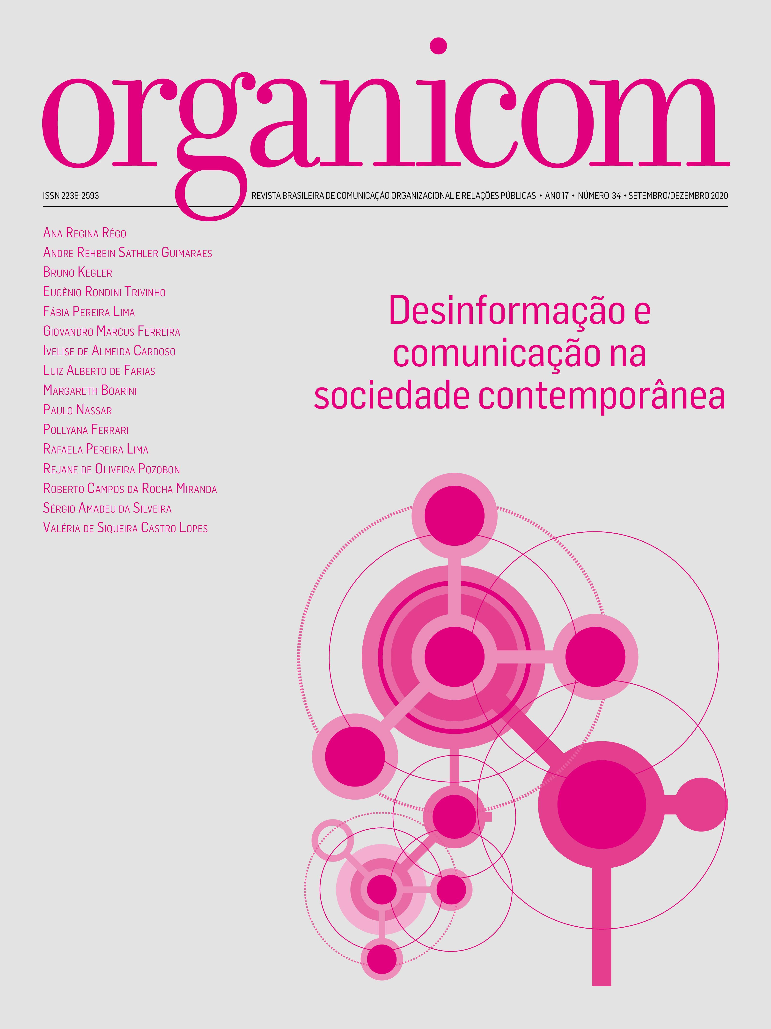 Visualizar v. 18 n. 34 (2021): Desinformação e comunicação na sociedade contemporânea