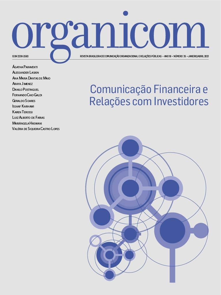 Visualizar v. 18 n. 35 (2021): Comunicação Financeira e Relações com Investidores