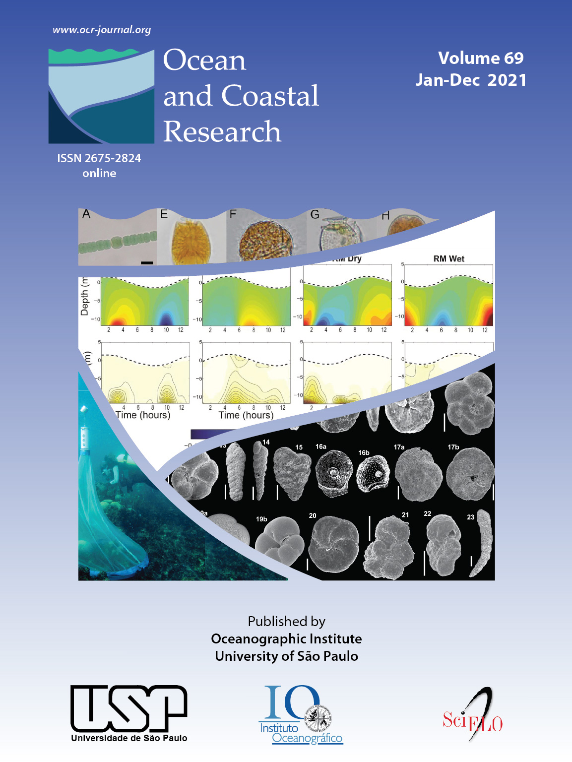 Ocean and Coastal Research 2021 -  Volume 69
