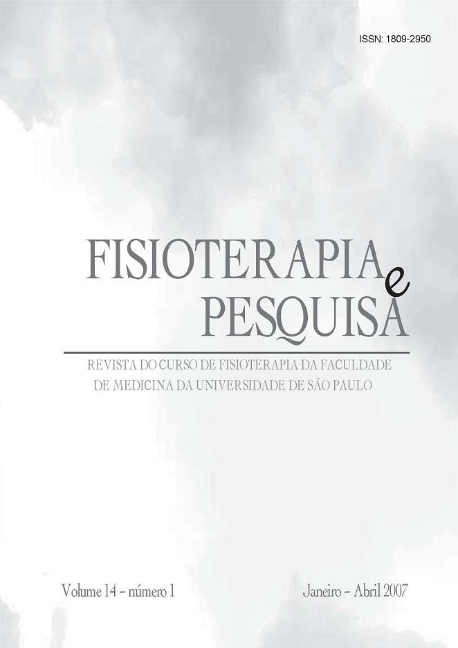 Visualizar v. 14 n. 1 (2007)