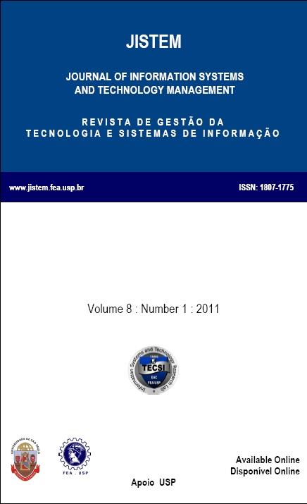 View Vol. 8 No. 1 (2011)