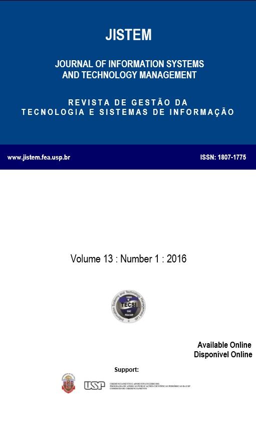 View Vol. 13 No. 1 (2016)