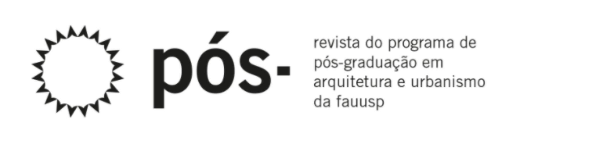 Pós. Revista Programa de Pós-Graduação em Arquitetura e Urbanismo da FAUUSP