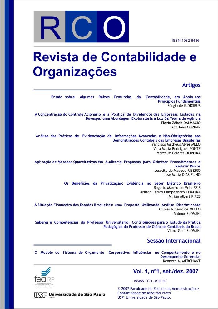 Visualizar v. 1 n. 1 (2007)