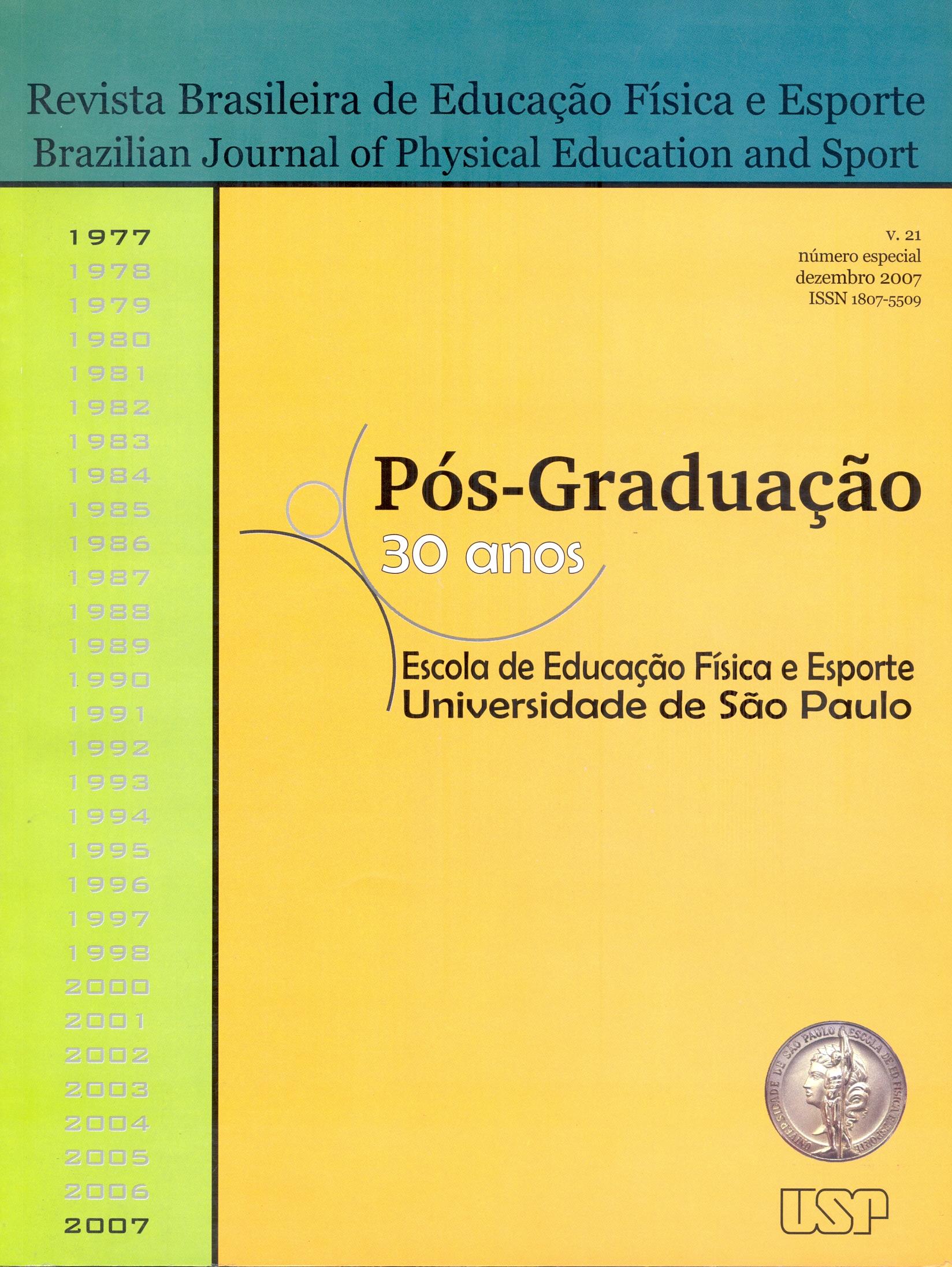 Visualizar v. 21 (2007): Número Especial