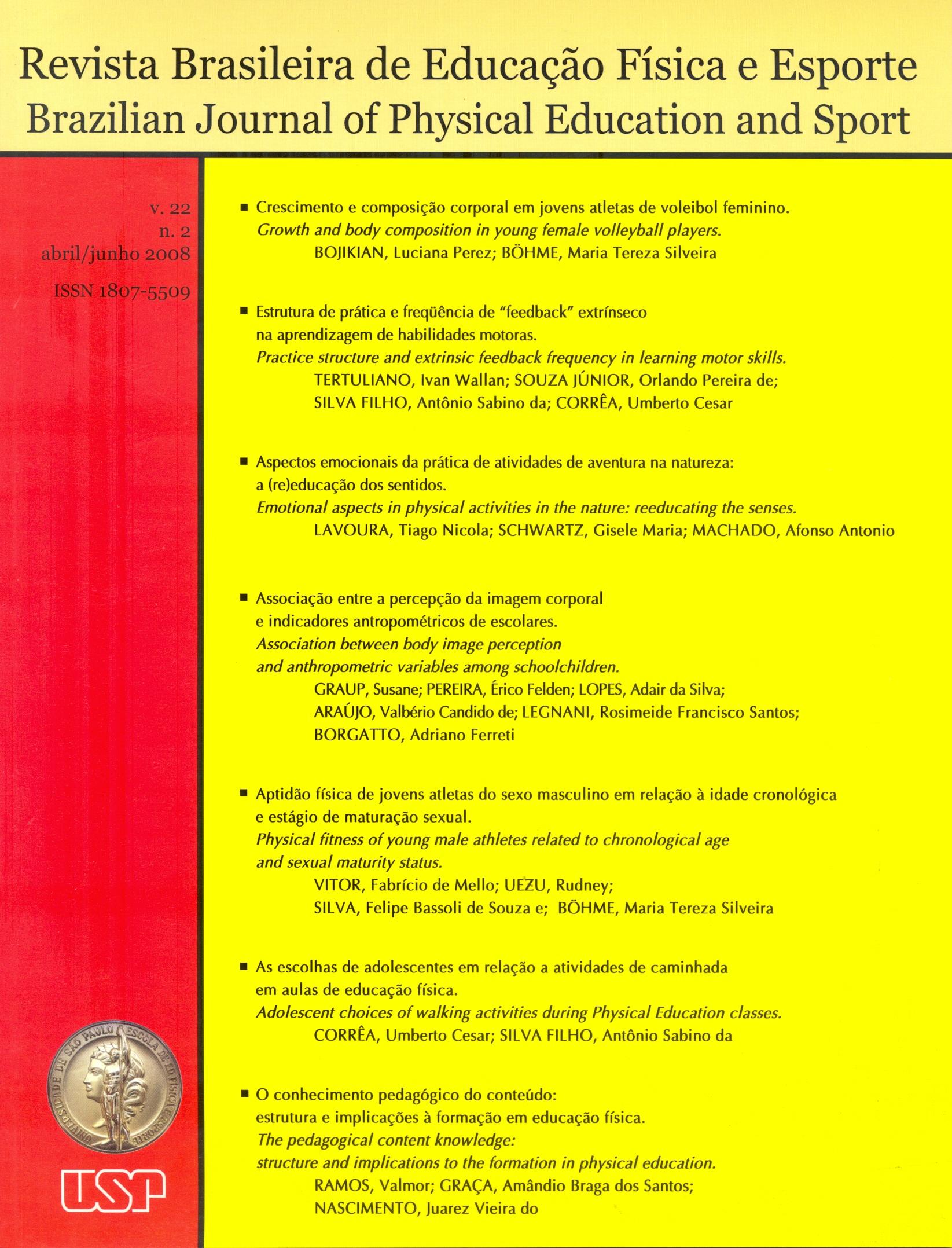 Visualizar v. 22 n. 2 (2008)