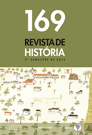 """Visualizar n. 169 (2013): DOSSIÊ – """"Dinâmica institucional nas Américas: questões historiográficas (1640-1840)"""""""