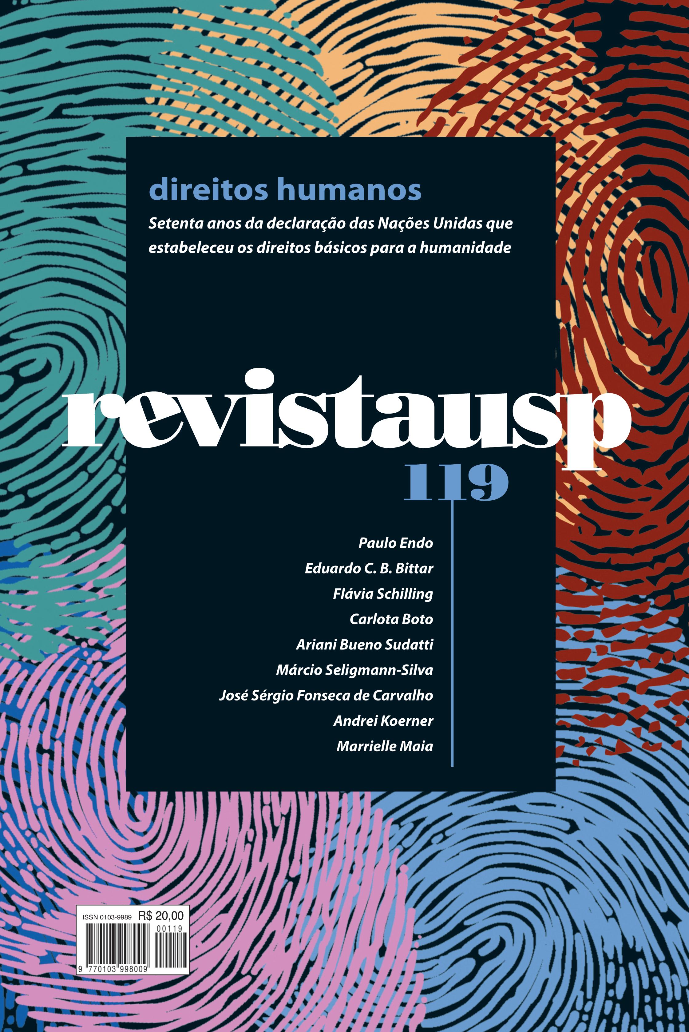 Visualizar n. 119 (2018): dossiê direitos humanos