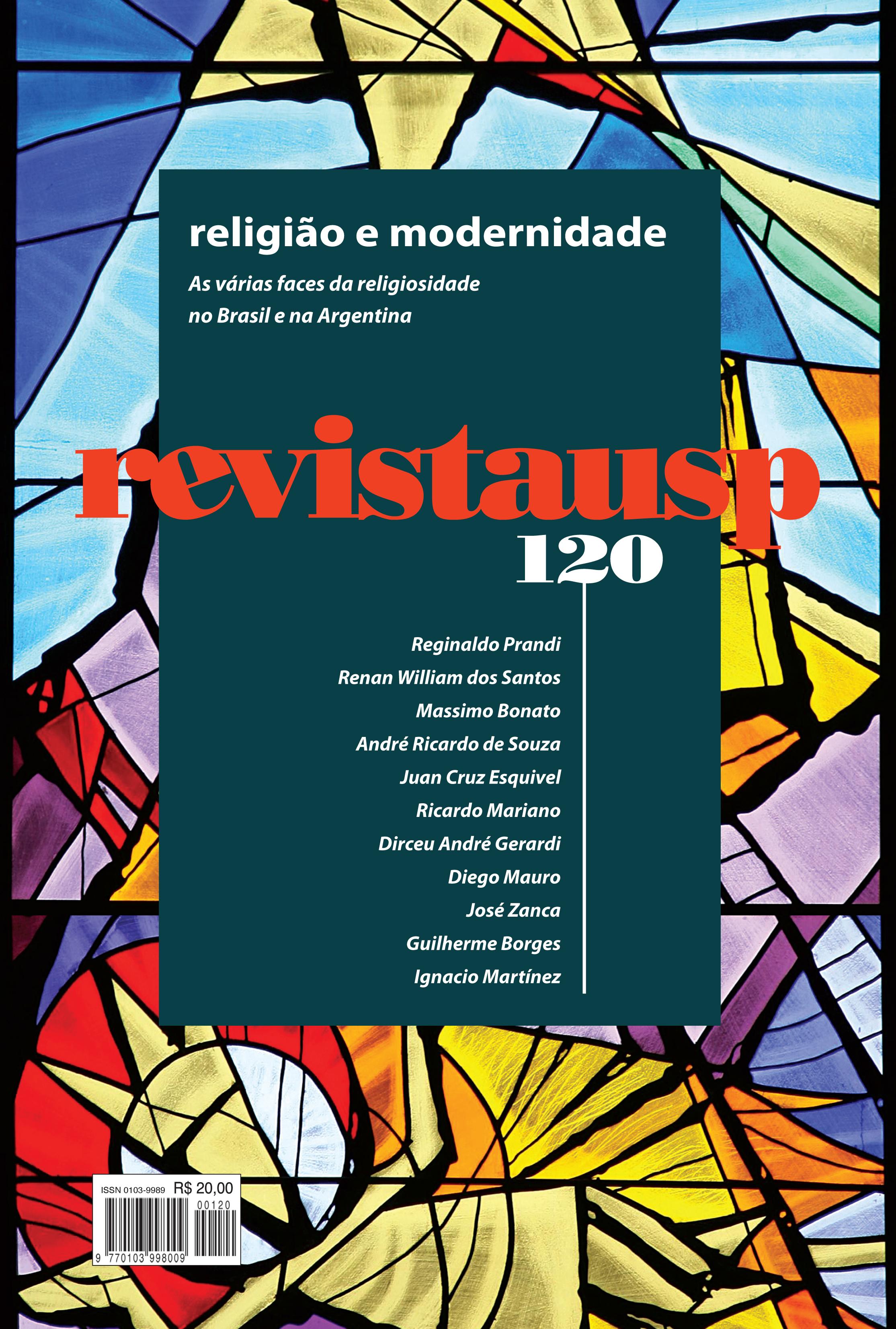 Visualizar n. 120 (2019): Dossiê religião e modernidade