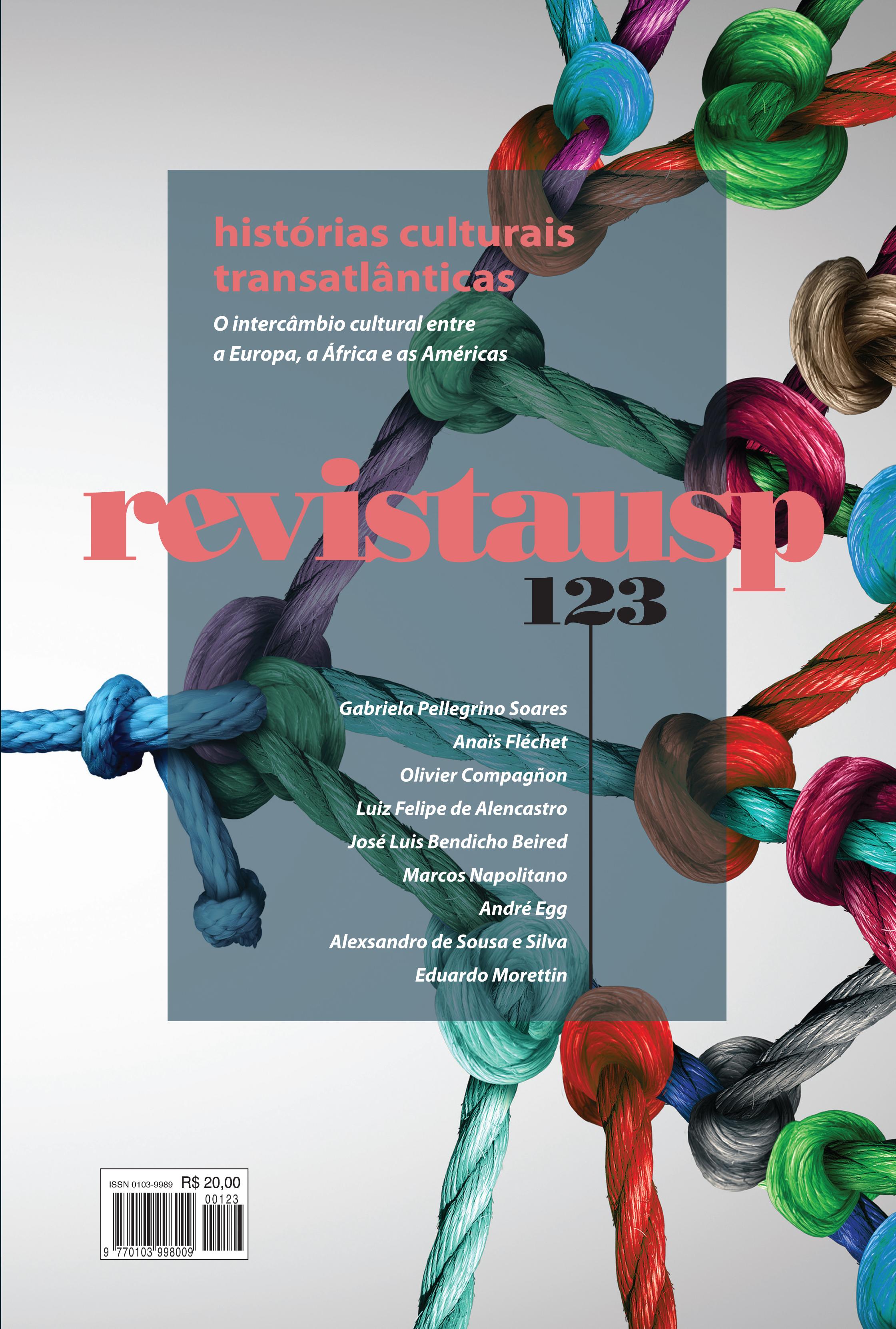 Visualizar n. 123 (2019): dossiê histórias culturais transatlânticas