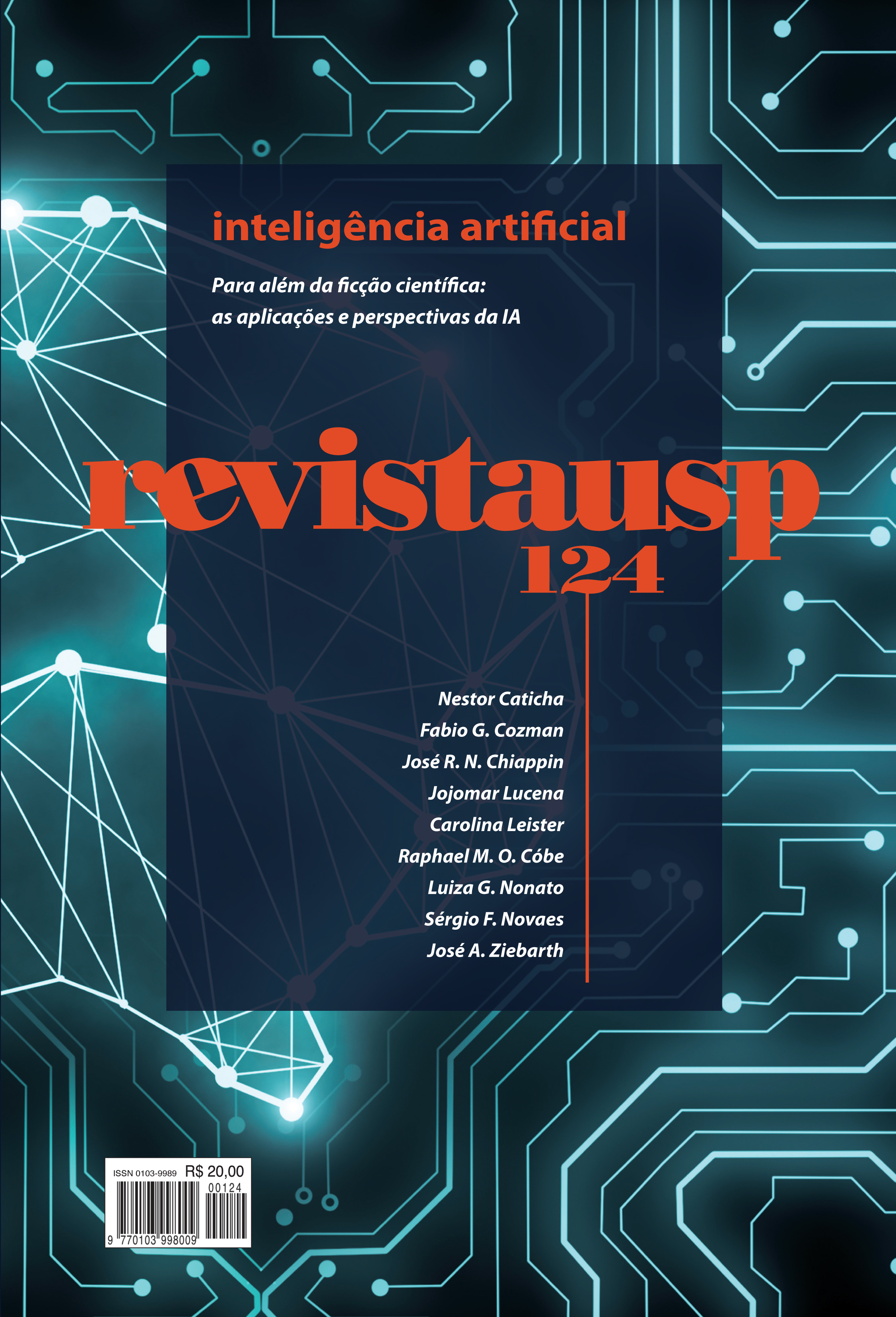 Visualizar n. 124 (2020): dossiê inteligência artificial