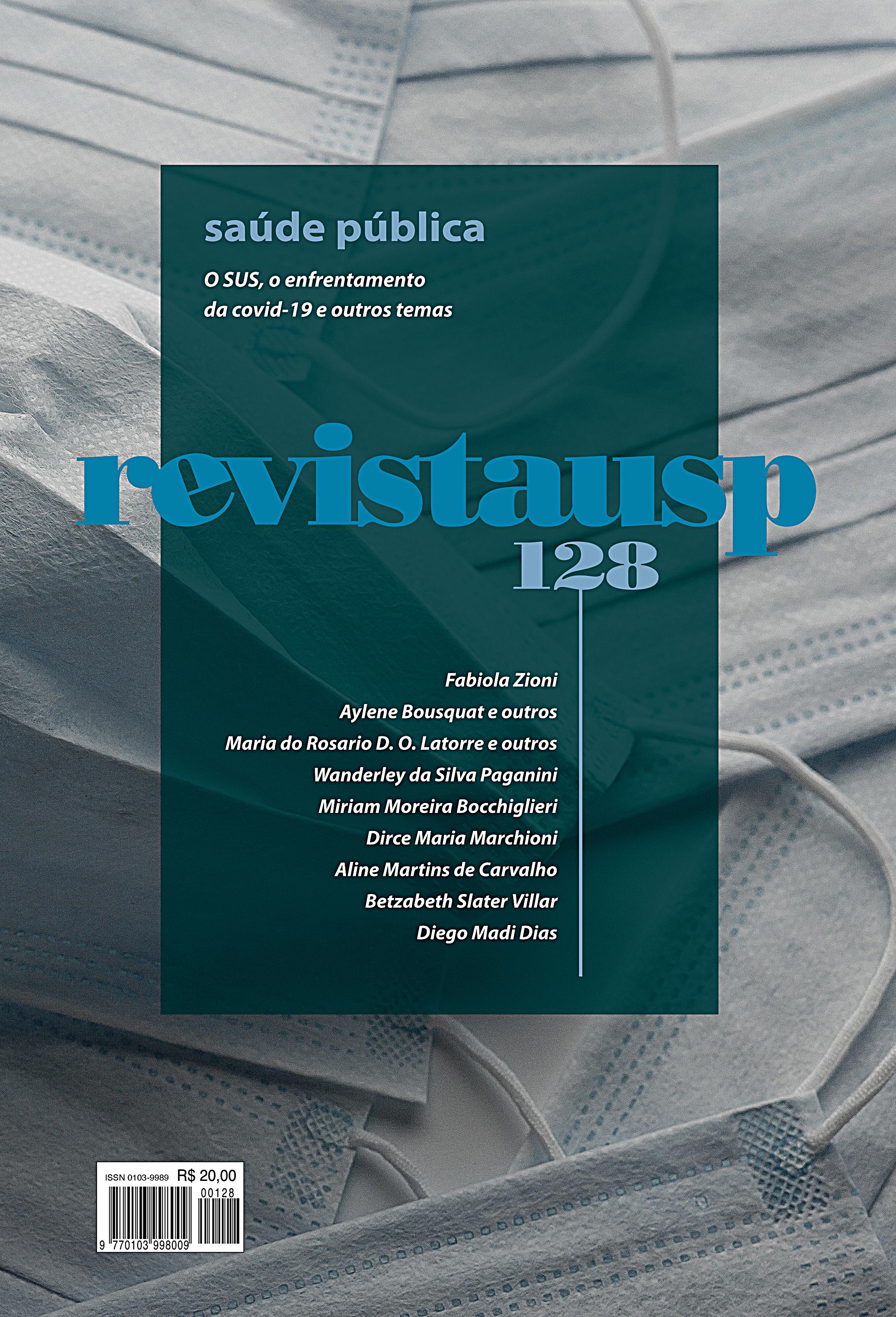 Visualizar n. 128 (2021): Dossiê saúde pública