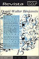 Visualizar n. 15 (1992): WALTER BENJAMIN