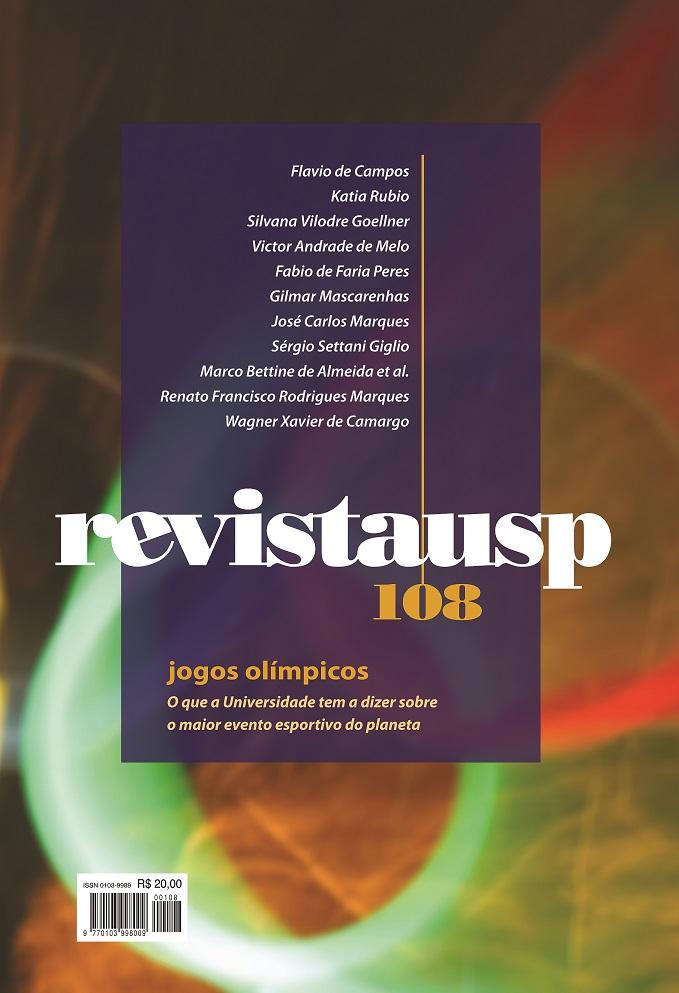 Visualizar n. 108 (2016): Dossiê Jogos Olímpicos