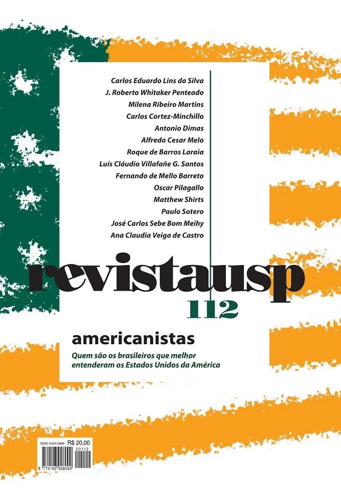 Visualizar n. 112 (2017): dossiê americanistas