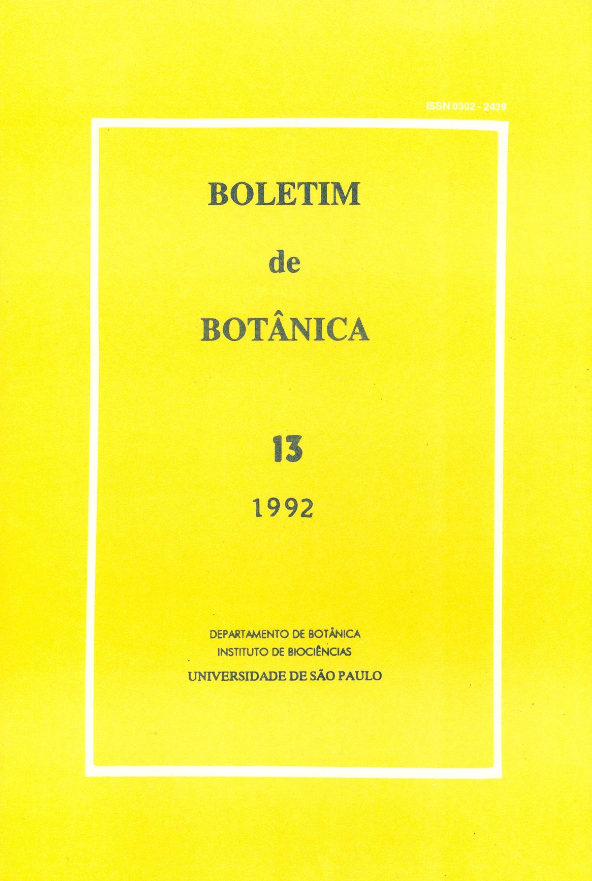Visualizar v. 13 (1992)