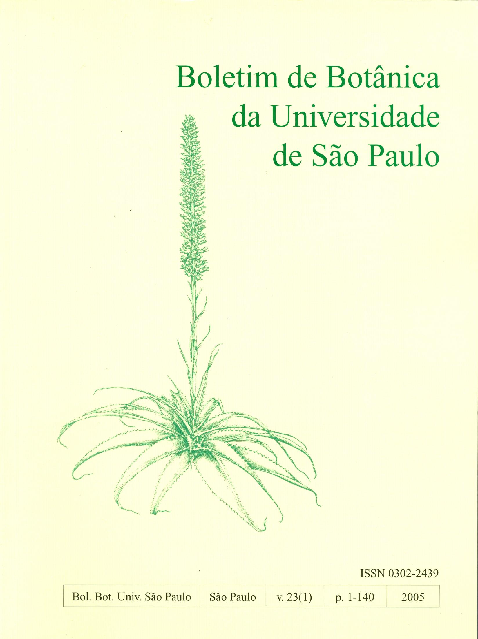 Visualizar v. 23 n. 1 (2005)