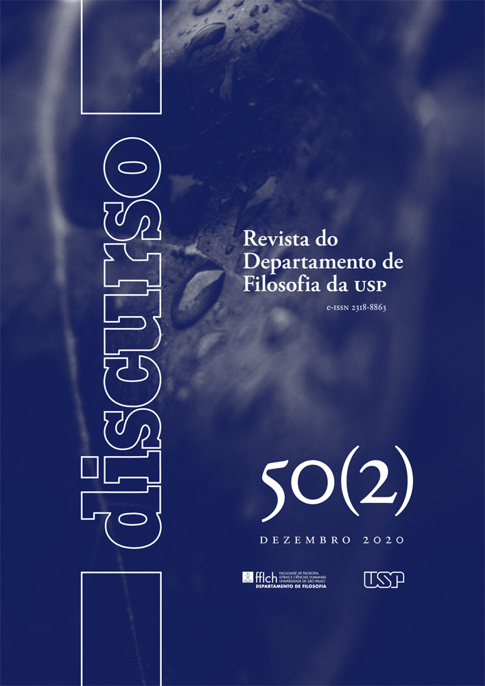 Visualizar v. 50 n. 2 (2020): Ceticismo, Filosofia e História da Filosofia: Homenagem a Oswaldo Porchat