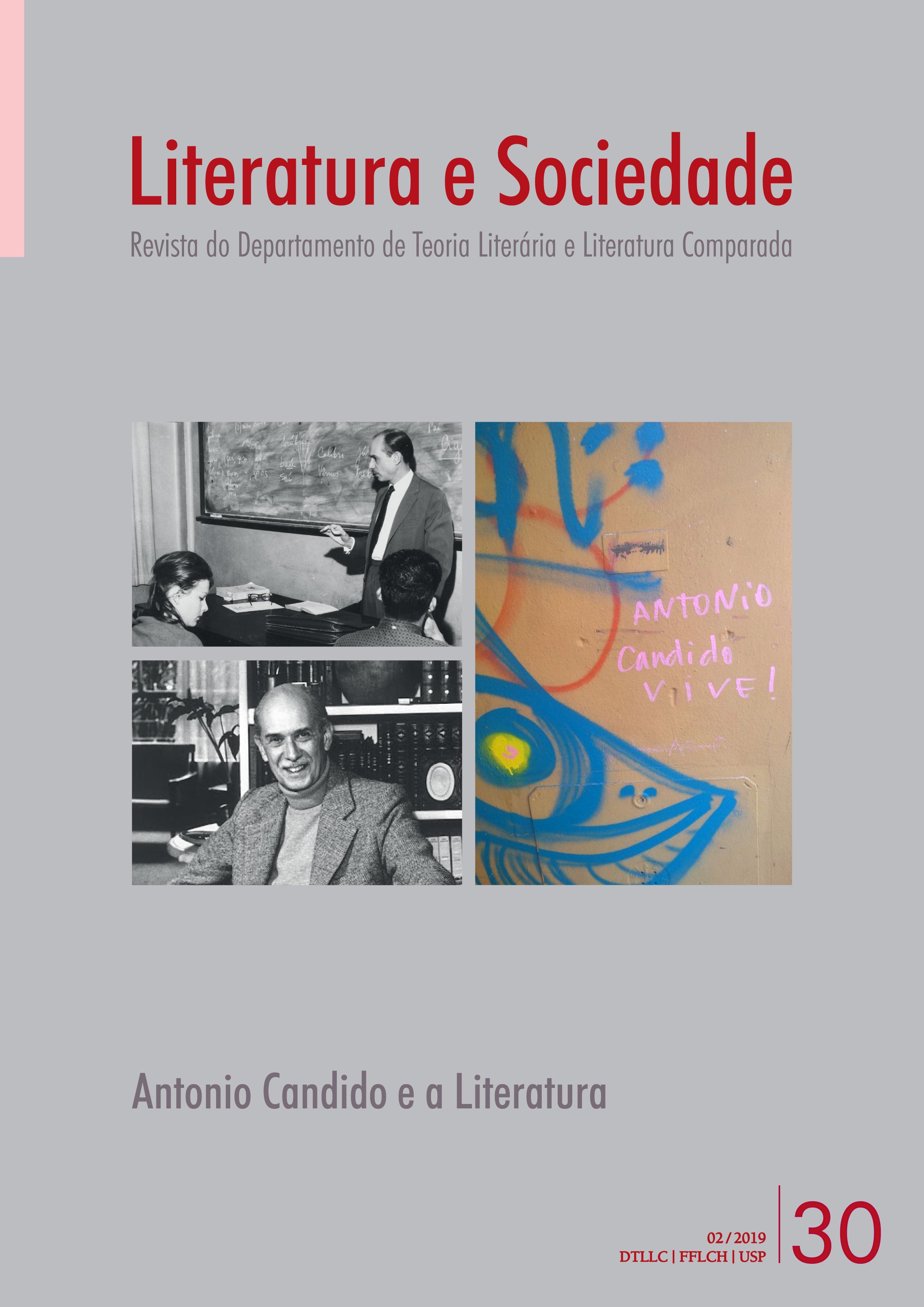 Visualizar v. 24 n. 30 (2019): Antonio Candido e a Literatura