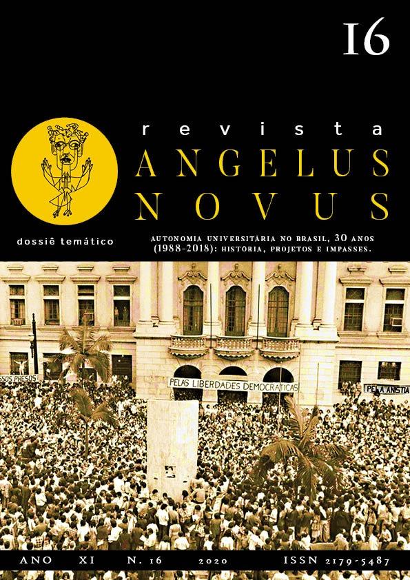Visualizar n. 16 (2020): Revista Angelus Novus (publicação contínua)