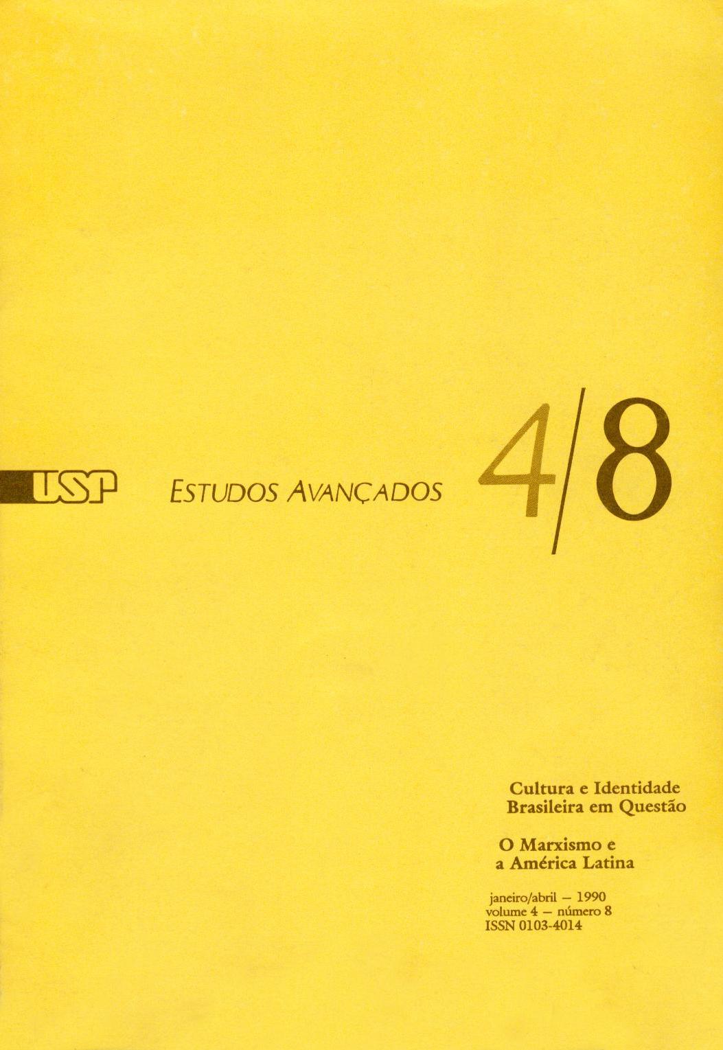 Visualizar v. 4 n. 8 (1990)