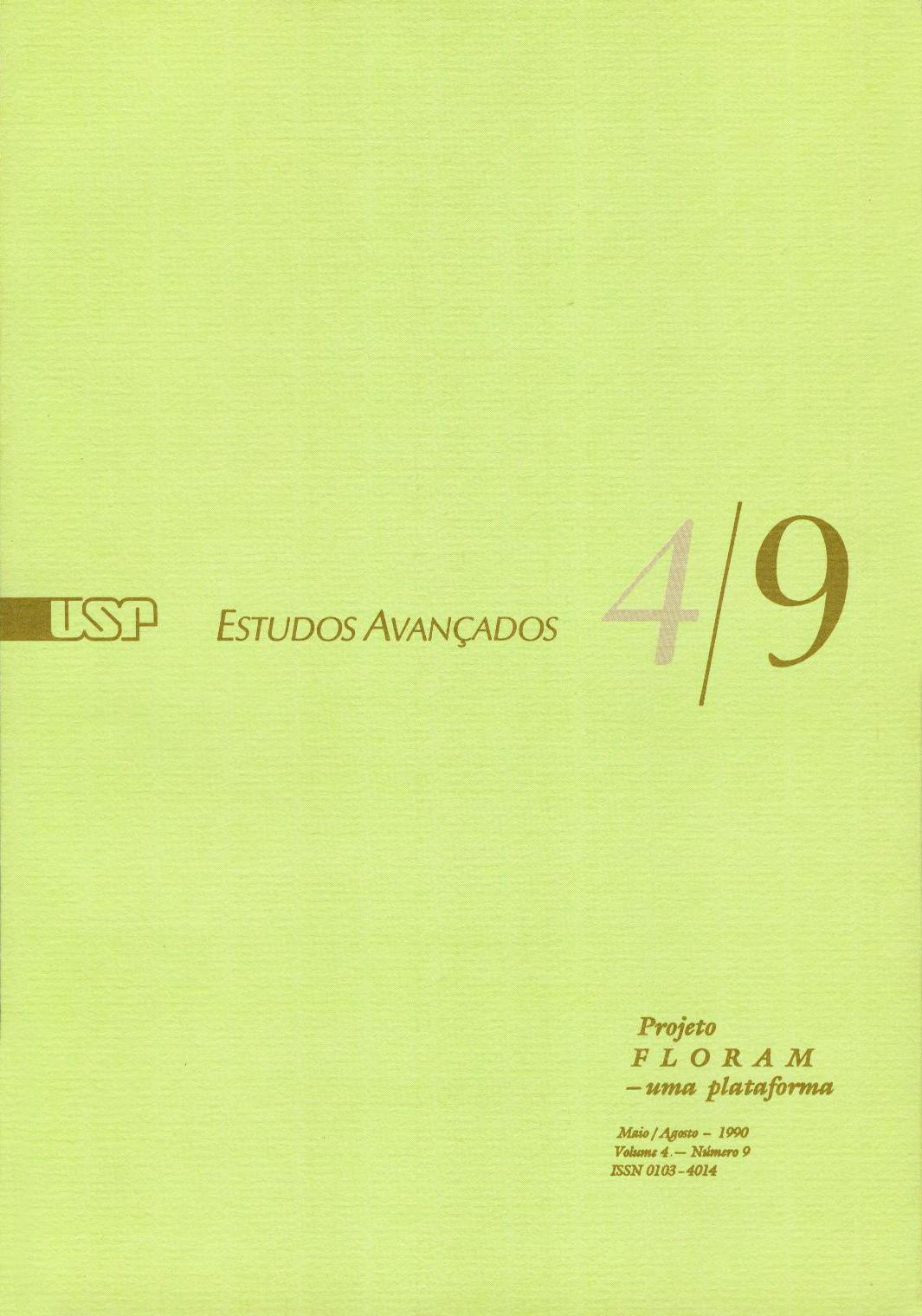 Visualizar v. 4 n. 9 (1990)