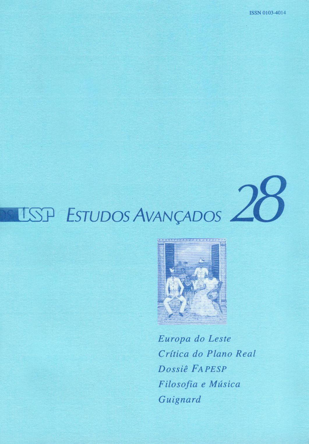 Visualizar v. 10 n. 28 (1996)