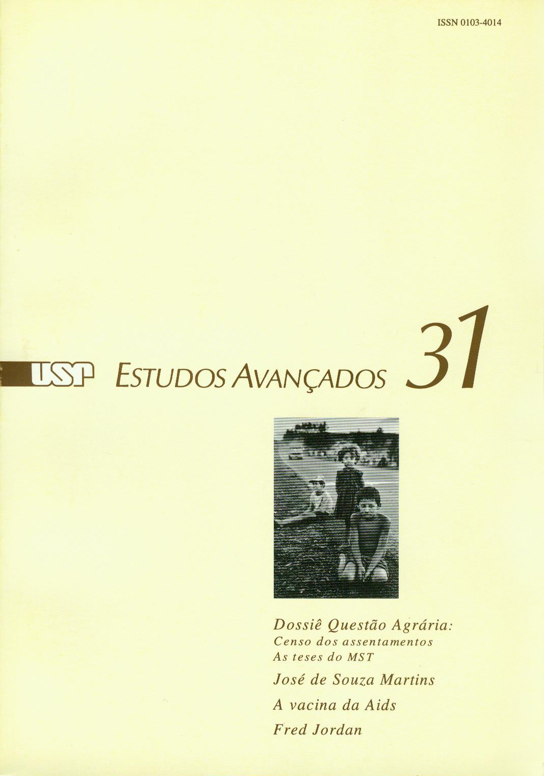 Visualizar v. 11 n. 31 (1997)