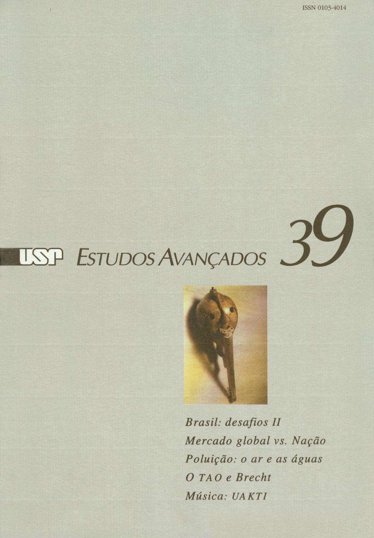 Visualizar v. 14 n. 39 (2000)
