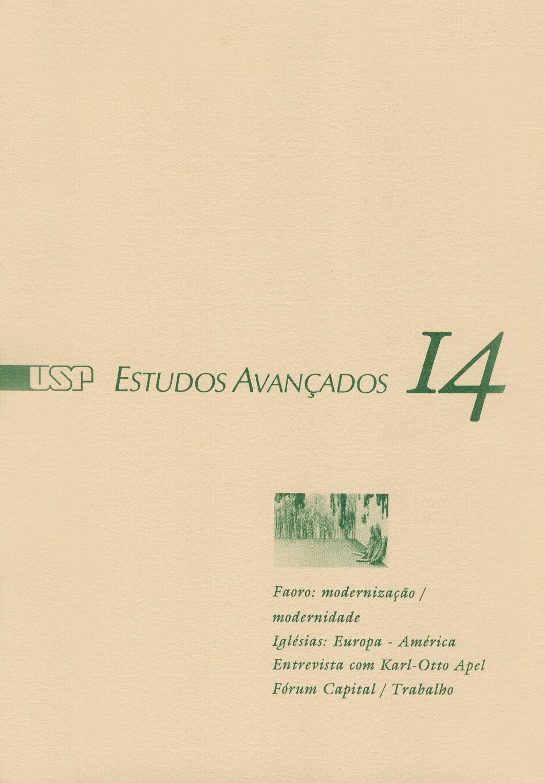 Visualizar v. 6 n. 14 (1992)