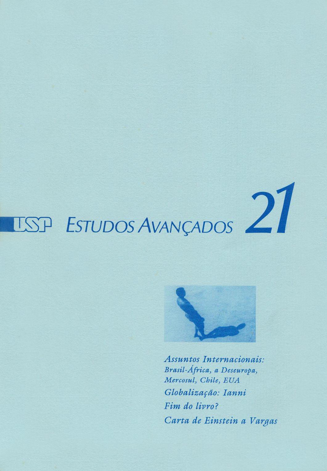 Visualizar v. 8 n. 21 (1994)