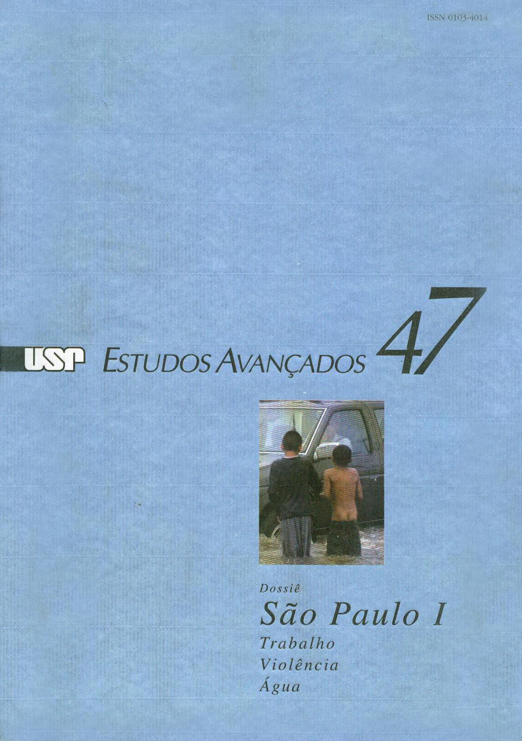 Visualizar v. 17 n. 47 (2003)