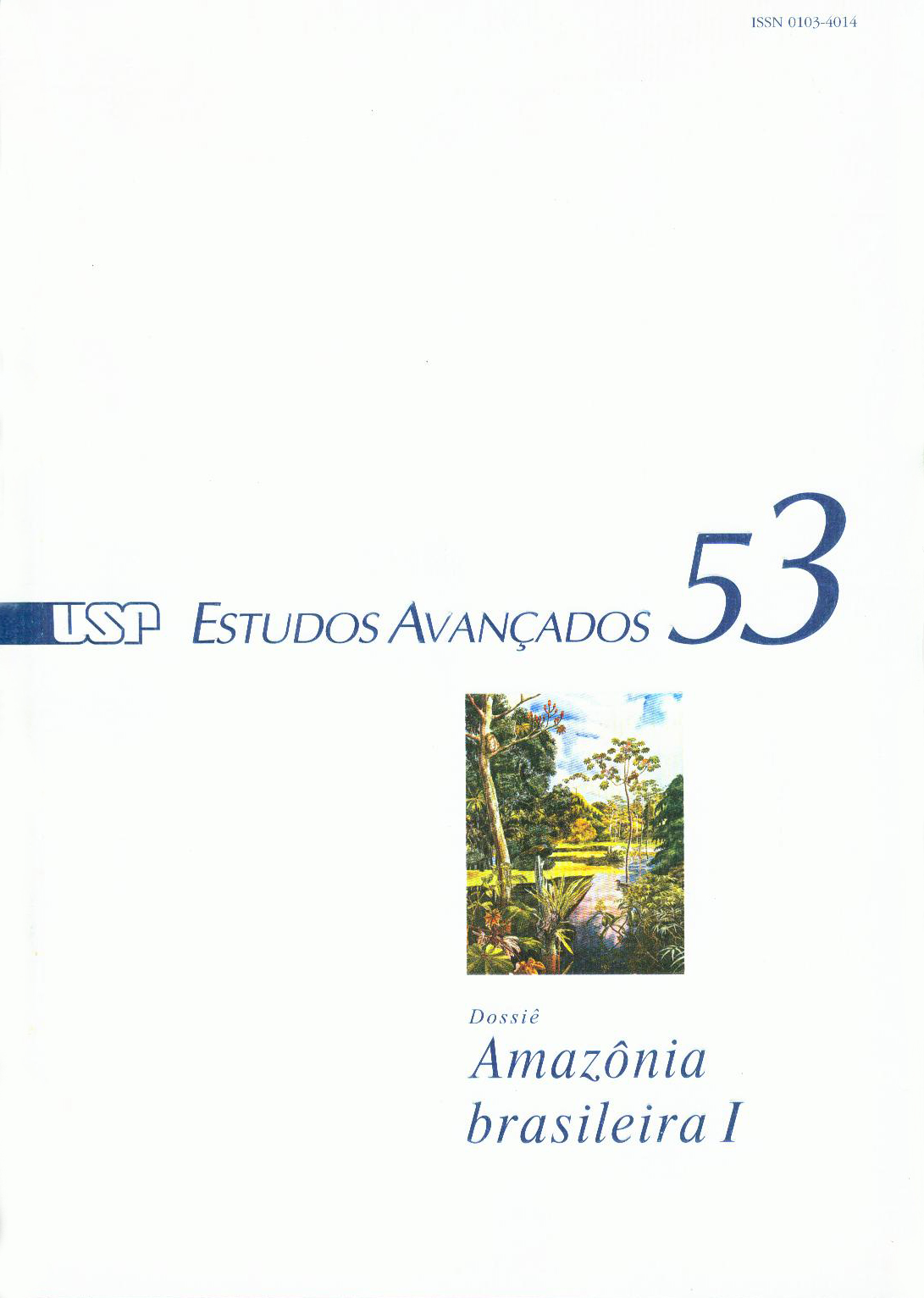 Visualizar v. 19 n. 53 (2005)