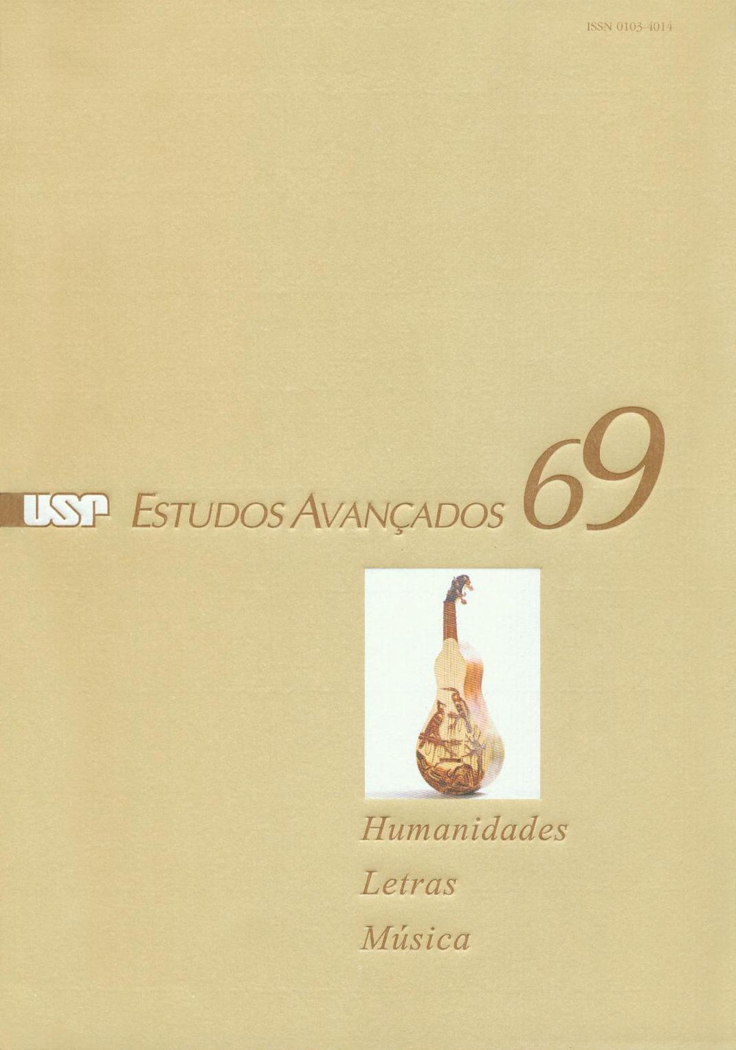 Visualizar v. 24 n. 69 (2010)
