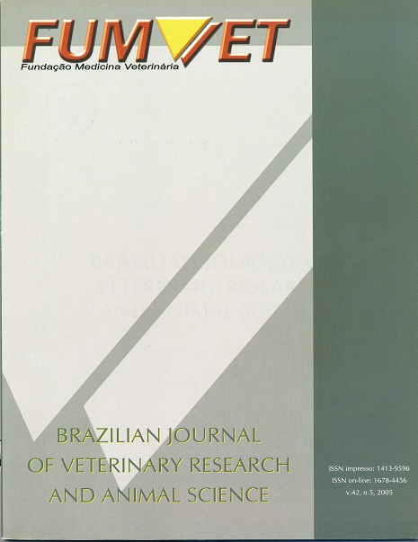 View Vol. 42 No. 5 (2005)