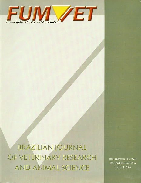 View Vol. 43 No. 1 (2006)