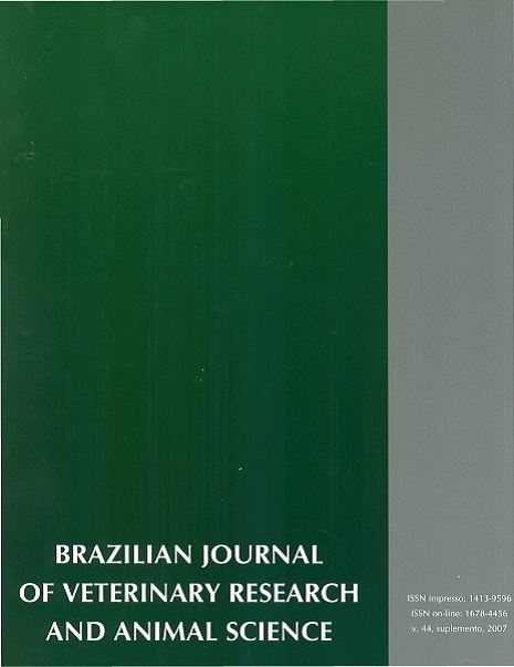 View Vol. 44 (2007): Suplemento