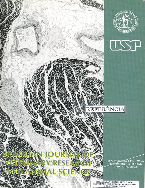 View Vol. 40 No. 3 (2003)