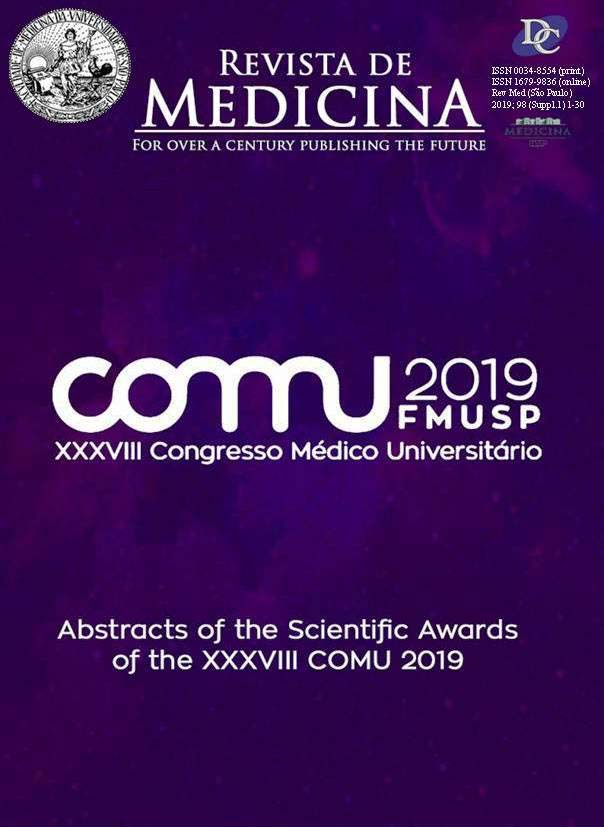 Visualizar v. 98 n. Suppl (2019): Abstracts of the Scientific Awards of the XXXVIII COMU 2019