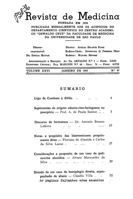 Visualizar v. 26 n. 97 (1942)
