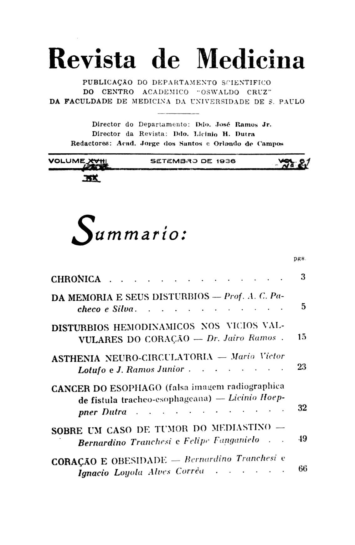Visualizar v. 20 n. 61 (1936)