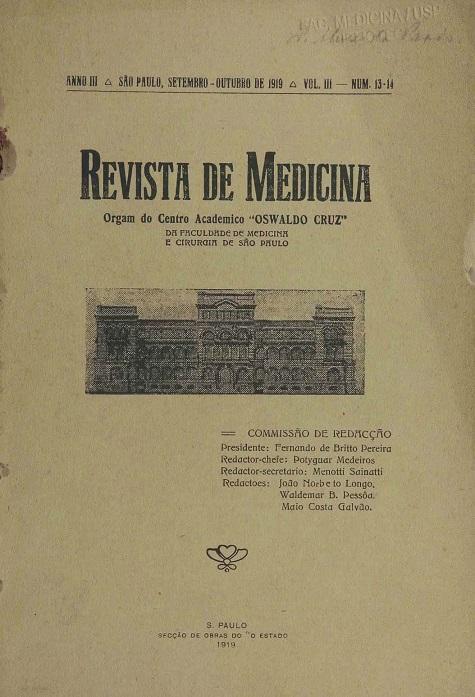 Visualizar v. 3 n. 13-14 (1919)