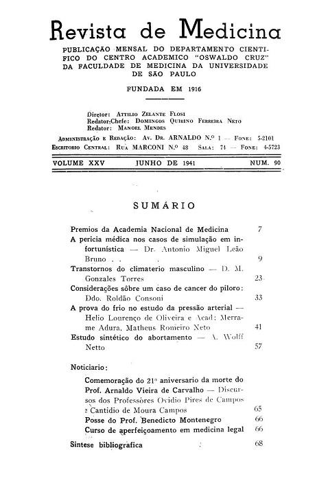 Visualizar v. 25 n. 90 (1941)