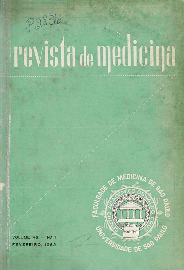 Visualizar v. 46 n. 1 (1962)