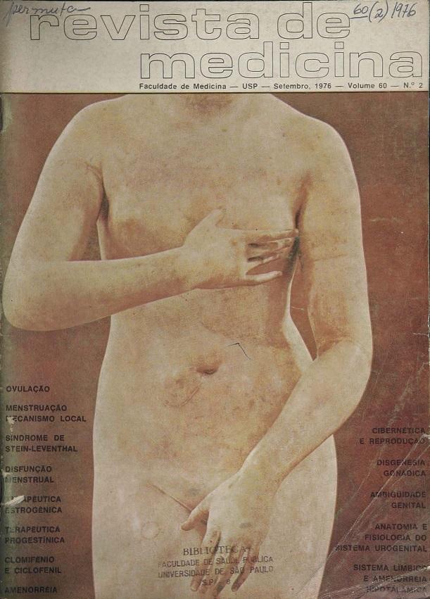 Visualizar v. 60 n. 2 (1976): Ginecologia