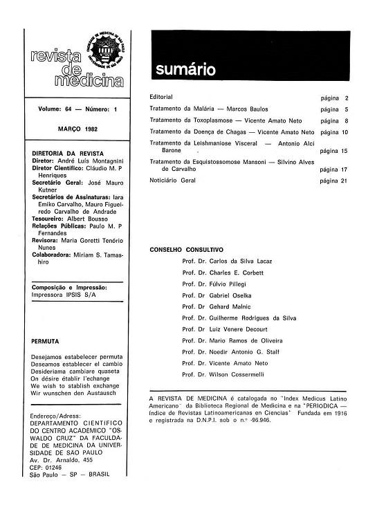 Visualizar v. 64 n. 1 (1982)